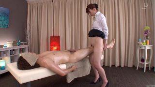 Subtitled traditional Japanese bottomless massage